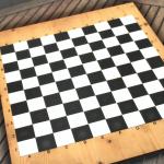 Handmade Chessboard 10x10