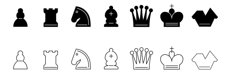 Piktogramme der Figuren