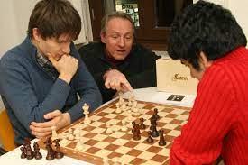 Vorstellung in einem Schachverein